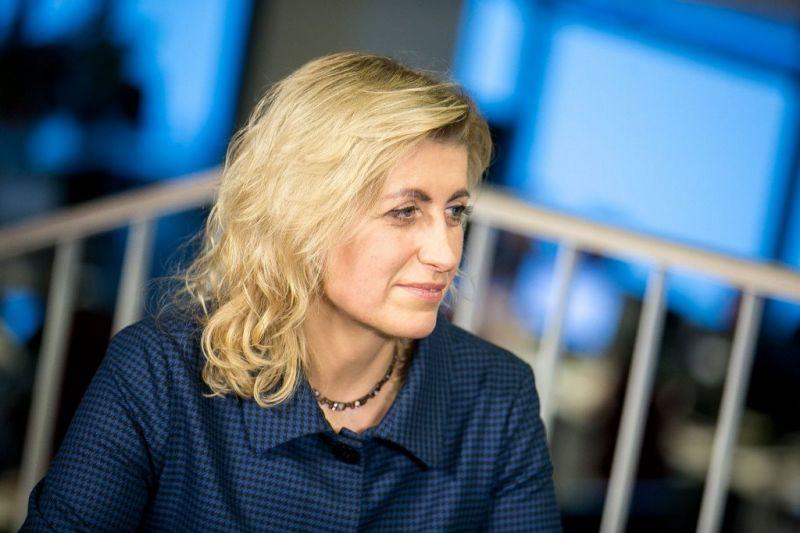 Kultūros ministrė Liana Ruokytė-Jonsson. Donato Pipo (delfi.lt) nuotrauka