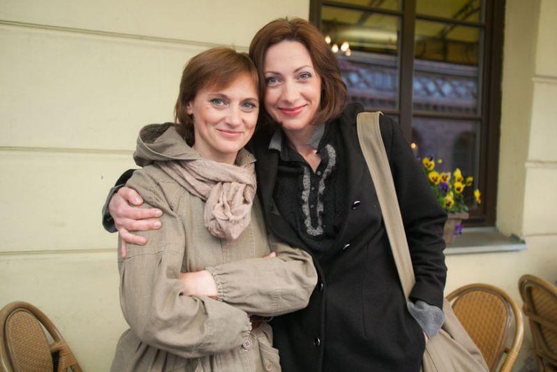Aktorės Vitalij Mockevičiūtė ir Neringa Varnelytė. Rengėjų archyvo nuotrauka