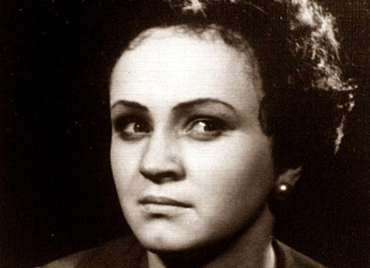 Marija Dičpetrytė aktorės karjeros pradžioje. Nuotrauka iš šeimos archyvo