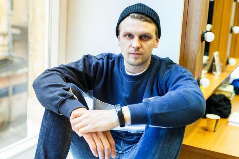 """Martynas Nedzinskas. Teatro """"Kitas kampas"""" archyvo nuotrauka"""