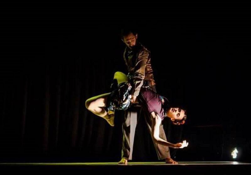 """Claros Giambino (Prancūzija) ir Blake'o Seidelio(JAV) duetas """"Žiedas"""" – Fridos Kahlo gyvenimo įkvėpta istorija. Rengėjų archyvo nuotrauka"""