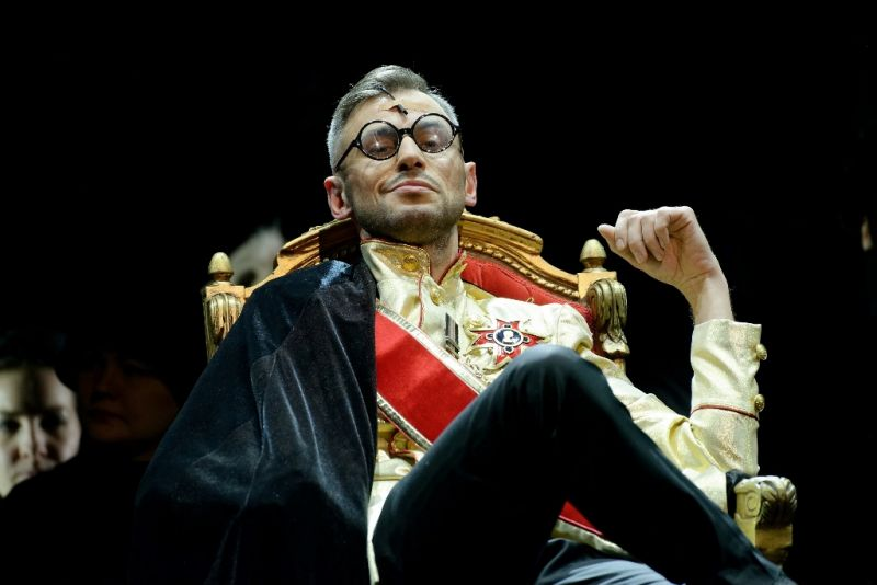"""Operoje """"Post futurum"""" Šėtono partiją atliks tenoras Mindaugas Jankauskas. LNOBT archyvo nuotrauka"""