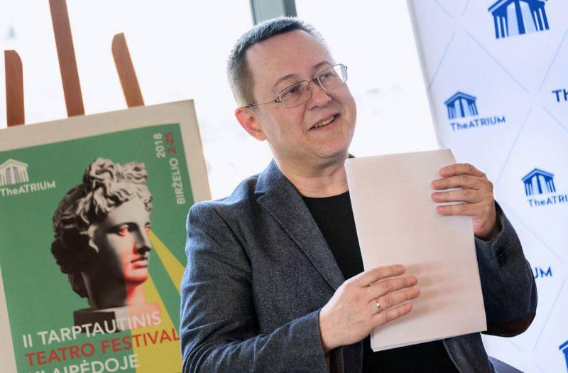 Klaipėdos dramos teatro meno vadovas Gintaras Grajauskas. KDT archyvo nuotrauka