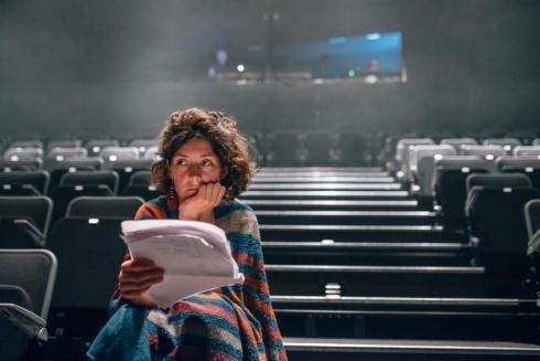 Dramaturgė Monika Jašinskaitė. Manto Puidos nuotrauka