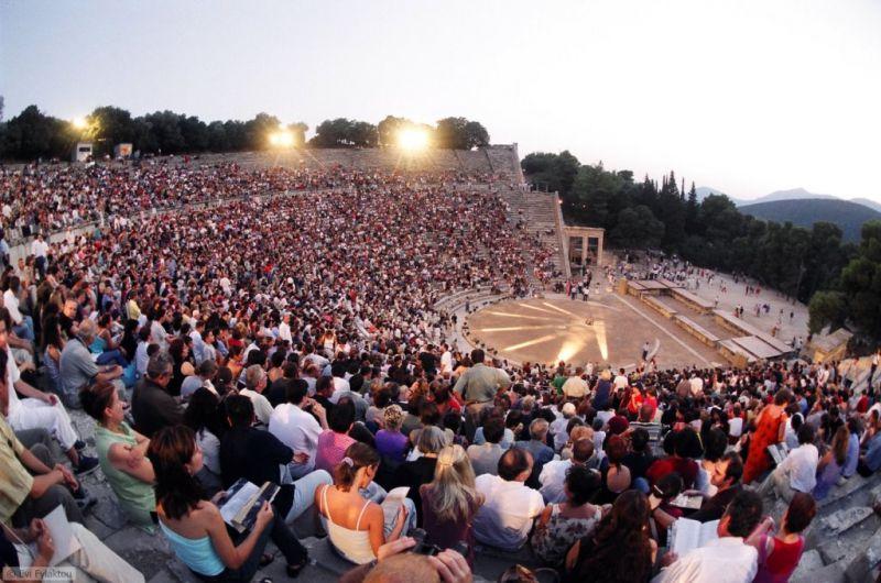 Antikinis Epidauro teatras. Evi Fylaktou nuotrauka iš greekfestival.gr