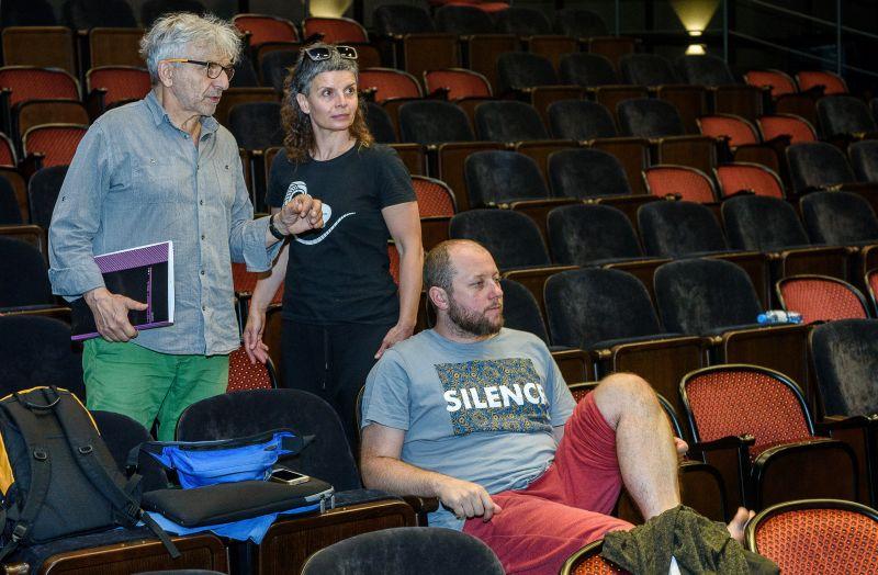 Tomasz Rodowicz, Tomasz Kryzanowski ir Elina Tonev. Algirdo Kubaičio nuotrauka