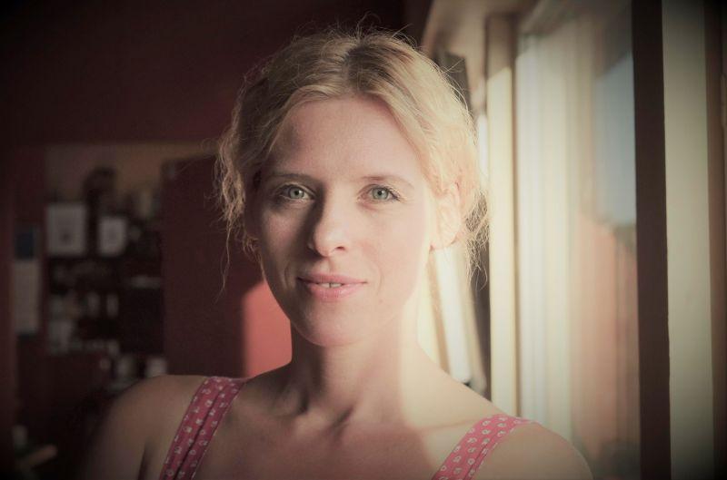 """Aktorė Vesta Šumilovaitė-Tertelienė. Teatro """"Atviras ratas"""" archyvo nuotrauka"""
