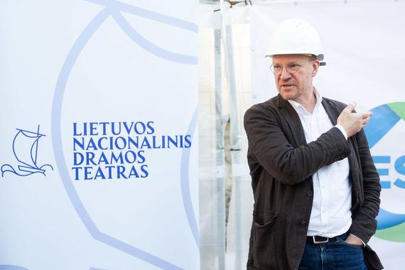 Lietuvos nacionalinio dramos teatro direktorius Martynas Budraitis. Žygimanto Gedvilos nuotrauka