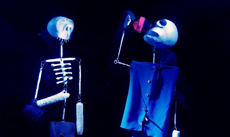 """""""Siaubo pasakos"""": kaukoliukai. Rengėjų archyvo nuotrauka"""